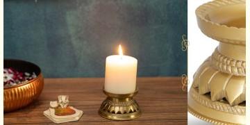 Nakshikathaa ✠ Mandala Candle Stand (Gold Finish)