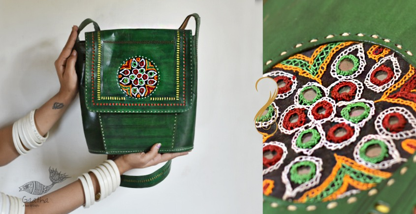 The nomad within me ♠ Kutchi Leather Bags ♠ 9