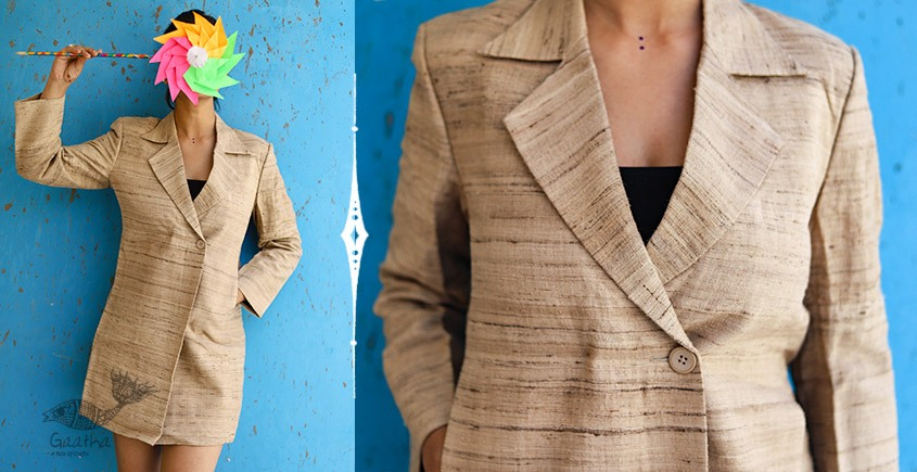 Joyta ❤ Woolens ~ Khadi Over Coat ~ 32