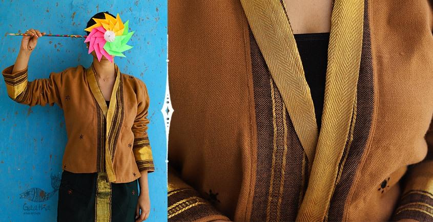 Joyta ❤ Woolens ~ Gold brown shrug ~ 19