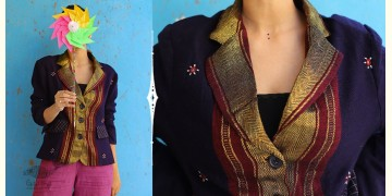 Joyta ❤ Woolens ~ Blue blazer ~ 5