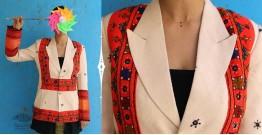 Joyta ❤ Woolens ❤ Beige orange blazer ~ 23