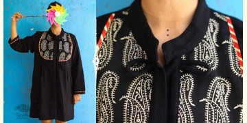 Joyta ❤ Woolens ~ Black mashru jacket ~ 22