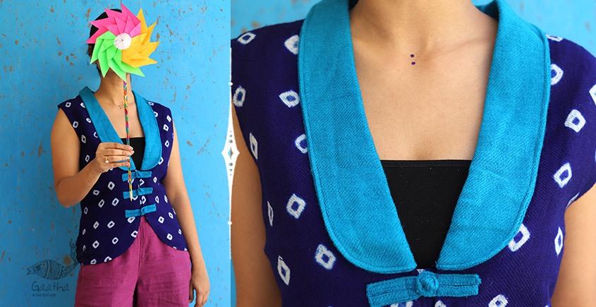 Joyta ❤ Woolens ~ Blue waist coat ~ 6