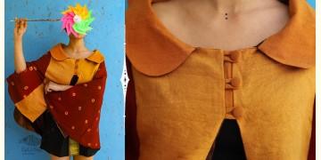 Joyta ❤ Woolens ~ Mustard cape ~ 11