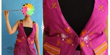 Joyta ❤ Woolens ~ Purple waist coat ~ 17