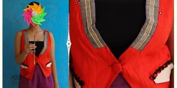 Joyta ❤ Woolens ~ Orange waist coat ~ 16