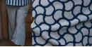 Ayoni ☘ Indigo scallop pyjama ~ 12