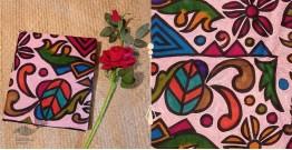Madhumalti ✥Hand Painted Kantha Silk Saree ✥ 6