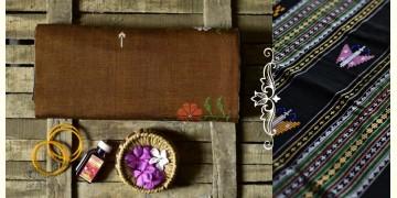 Aalta . आलता ✥ Dhalapathar Handloom Cotton Saree ✥ 1