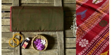 Aalta . आलता ✥ Dhalapathar Handloom Cotton Saree ✥ 11