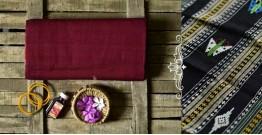 Aalta . आलता ✥ Dhalapathar Handloom Cotton Saree ✥ 4