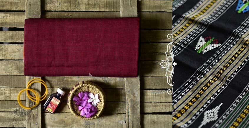 Shop handloom thalapathara red cotton saree