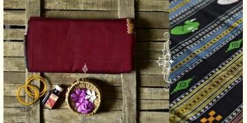 Aalta . आलता ✥ Dhalapathar Handloom Cotton Saree ✥ 6