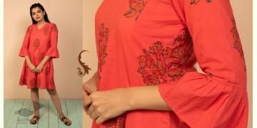 उत्सव  ✻ Block Printed Cotton Dress ✻ 28
