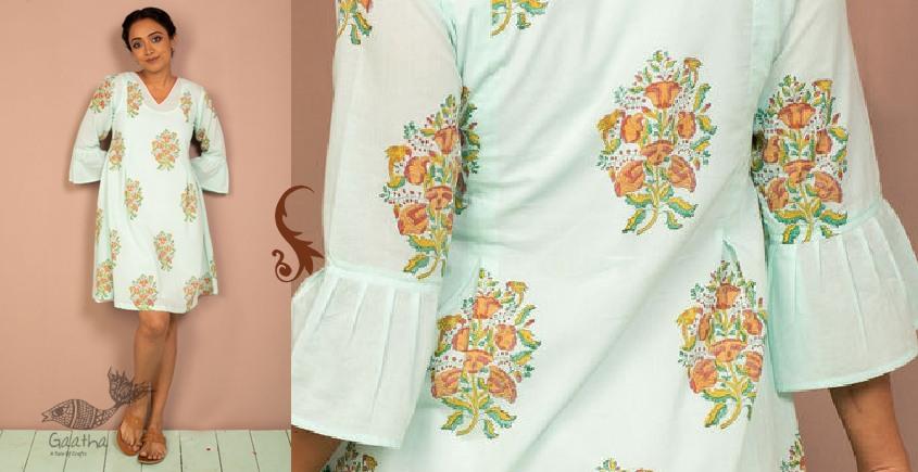 उत्सव  ✻ Block Printed Cotton Dress ✻ 29