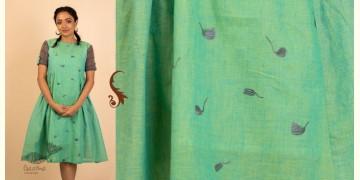उत्सव  ✻ Cotton Chambray Embroidered Dress ✻ 27