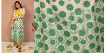 उत्सव  ✻ Chanderi Silk Block Printed Kurta with Cotton Tapered Pant - ( Set of 2 ) ✻ 22