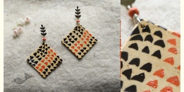 Mohini ✻ Ceramic Designer Jewelry ✻ Earring - 1