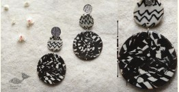 Mohini ✻ Ceramic Designer Jewelry ✻ Earring - 6
