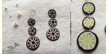 Mohini ✻ Ceramic Designer Jewelry ✻ Earring - 7