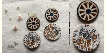 Mohini ✻ Ceramic Designer Jewelry ✻ Earring - 9