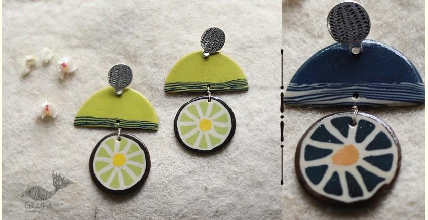 buy online handmade ceramic Earring