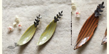 Mohini ✻ Ceramic Designer Jewelry ✻ Earring - 11