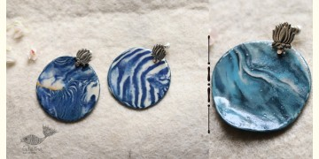 Mohini ✻ Ceramic Designer Jewelry ✻ Earring - 17