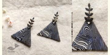 Mohini ✻ Ceramic Designer Jewelry ✻ Earring - 18