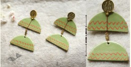 Mohini ✻ Ceramic Designer Jewelry ✻ Earring - 20