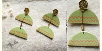 Mohini ✻ Ceramic Designer Jewelry ✻ Earring - 20