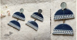 Mohini ✻ Ceramic Designer Jewelry ✻ Earring - 21