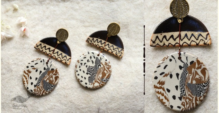 buy online handmade ceramic Earring