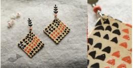 Mohini ✻ Ceramic Designer Jewelry ✻ Earring - 1