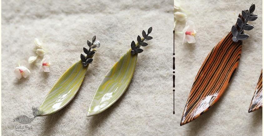 Mohini ✻ Ceramic Designer Jewelry ✻ Earring - 11