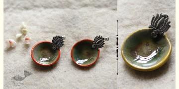 Mohini ✻ Ceramic Designer Jewelry ✻ Earring - 12