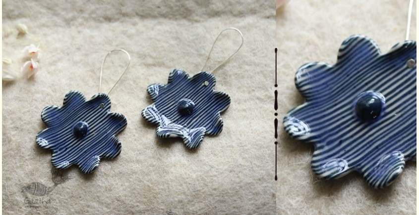 Mohini ✻ Ceramic Designer Jewelry ✻ Earring - 19