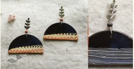 Mohini ✻ Ceramic Designer Jewelry ✻ Earring - 2