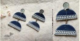 Mohini ✻ Ceramic Designer Jewelry ✻ Earring - 21