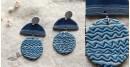 Mohini ✻ Ceramic Designer Jewelry ✻ Earring - 4