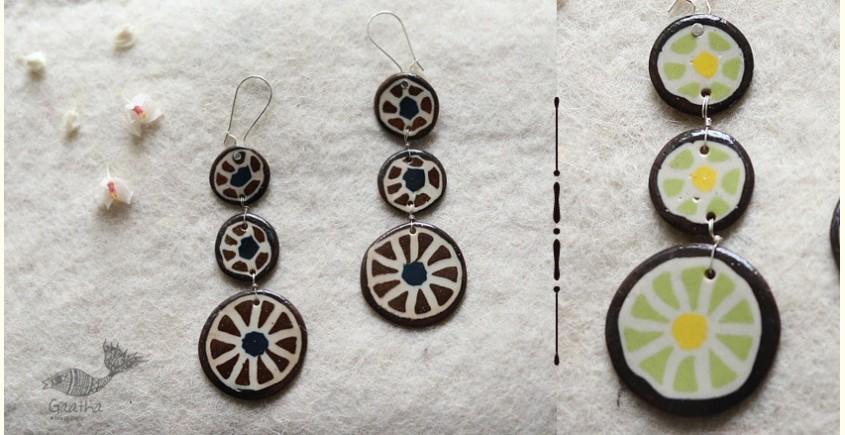 Mohini ✻ Ceramic Designer Jewelry ✻ Earring - 7