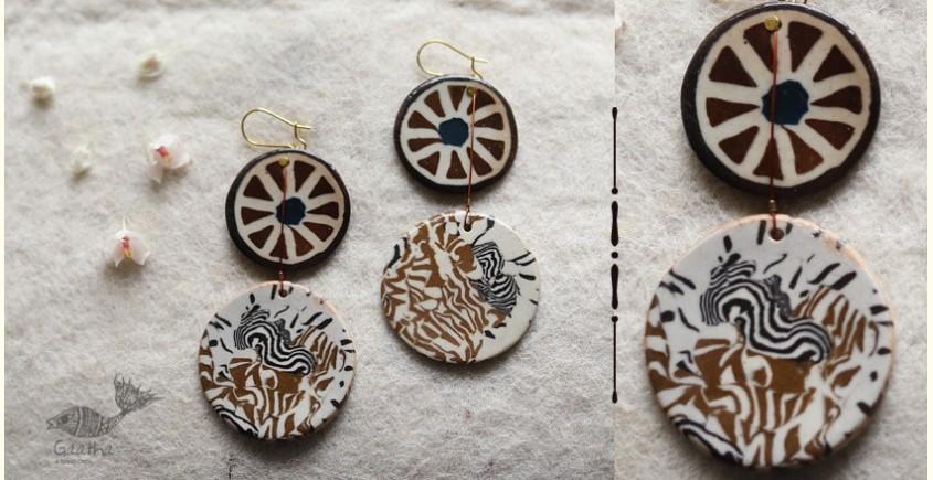 Mohini ✻ Ceramic Designer Jewelry ✻ Earring - 9