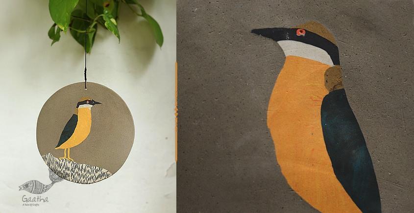 single chimes - Pitta Bird with adjustable thread