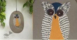Handmade Ceramic Hanging - Owl - 3