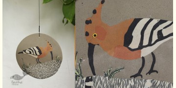 Handmade Ceramic Hanging  - Hoopoe Bird - 5