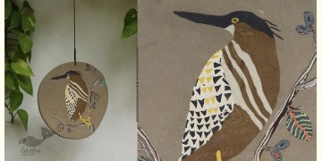 Handmade Ceramic Hanging  - Heron Bird - 6