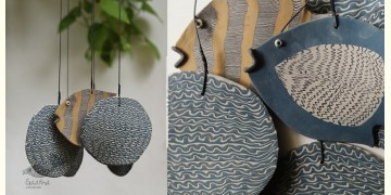 Handmade Ceramic Chimes - ( Fish in the Pond ) 13