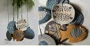 Handmade Ceramic Chimes - ( Fish & Tartal ) 14