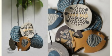 Handmade Ceramic Chimes - ( Fish & Tartal ) 14
